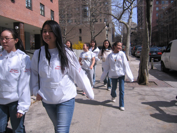 Does columbia take community service into account?