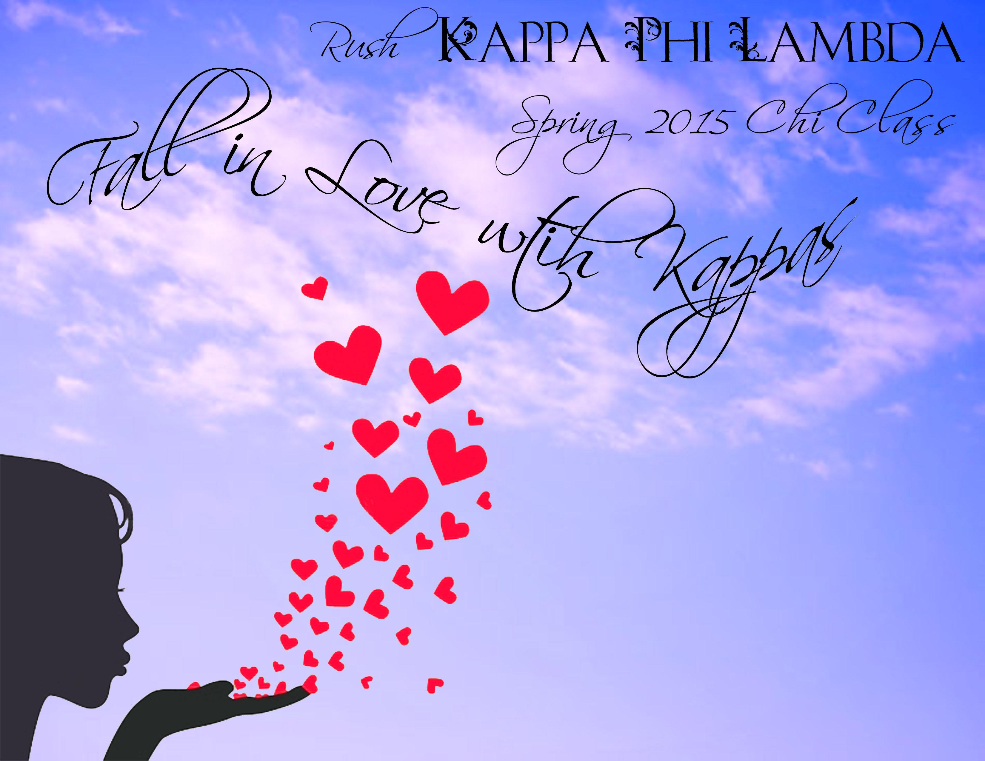 Rush Kappa Phi Lambda Spring 2015