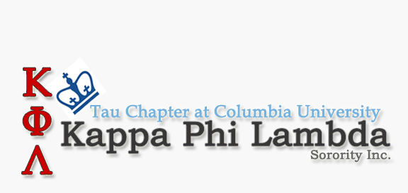 Columbia University | Tau Chapter of Kappa Phi Lambda